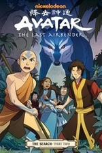Book cover of AVATAR THE LAST AIRBENDER THE SEARCH 02