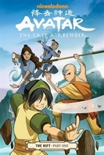 Book cover of AVATAR THE LAST AIRBENDER THE RIFT 01