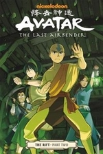 Book cover of AVATAR THE LAST AIRBENDER THE RIFT 02