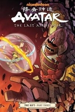 Book cover of AVATAR THE LAST AIRBENDER THE RIFT 03