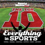 Book cover of SPORTS ILLU KIDS - TOP 10 OF EVERYTHING