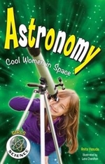 Book cover of ASTRONOMY - COOL WOMEN IN SPACE