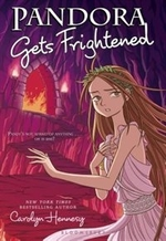 Book cover of PANDORA GETS FRIGHTENED