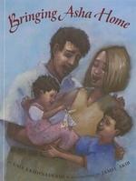 Book cover of BRINGING ASHA HOME