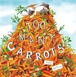 Book cover of TOO MANY CARROTS