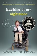 Book cover of LAUGHING AT MY NIGHTMARE