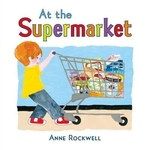 Book cover of AT THE SUPERMARKET