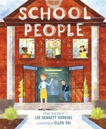 Book cover of SCHOOL PEOPLE