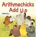 Book cover of ARITHMECHICKS ADD UP
