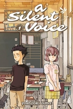 Book cover of SILENT VOICE 01