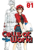 Book cover of CELLS AT WORK 01