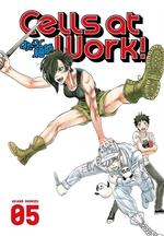 Book cover of CELLS AT WORK 05