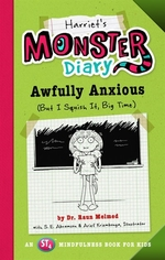 Book cover of HARRIET'S MONSTER DIARY -AWFULLY ANXIOUS