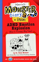 Book cover of MARVIN'S MONSTER DIARY 02 & LYSSA