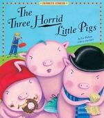 Book cover of 3 HORRID LITTLE PIGS