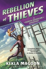 Book cover of ROBYN HOODLUM 02 REBELLION OF THIEVES