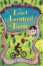 Book cover of EXACT LOCATION OF HOME