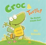 Book cover of CROC & TURTLE
