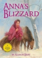 Book cover of ANNA'S BLIZZARD