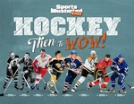 Book cover of HOCKEY - THEN TO WOW