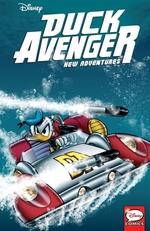 Book cover of DUCK AVENGER NEW ADVENTURES 03