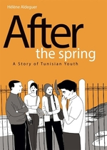 Book cover of AFTER THE SPRING - TUNISIAN YOUTH