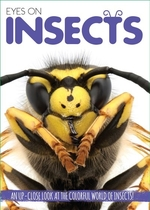 Book cover of EYES ON INSECTS