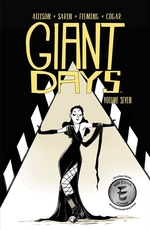 Book cover of GIANT DAYS 07