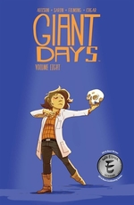 Book cover of GIANT DAYS 08