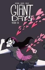 Book cover of GIANT DAYS 10