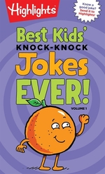 Book cover of BEST KID'S KNOCK-KNOCK JOKES EVER V 1