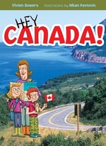 Book cover of HEY CANADA