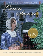Book cover of LAURA SECORD A STORY OF COURAGE