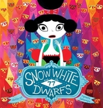 Book cover of SNOW WHITE & THE 77 DWARFS