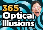 Book cover of 365 OPTICAL ILLUSIONS