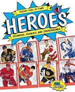 Book cover of HOCKEY HALL OF FAME HEROES