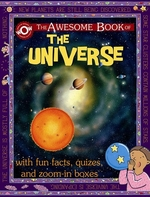 Book cover of AWESOME BOOK OF THE UNIVERSE