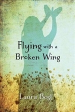 Book cover of FLYING WITH A BROKEN WING