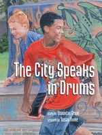 Book cover of CITY SPEAKS IN DRUMS