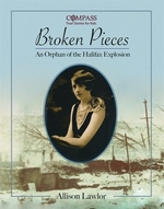 Book cover of BROKEN PIECES - AN ORPHAN OF THE HALIFAX