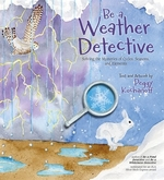 Book cover of BE A WEATHER DETECTIVE