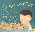 Book cover of EAT LEO EAT