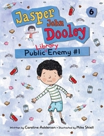 Book cover of JASPER JOHN DOOLY PUBLIC LIBRARY ENEMY 1
