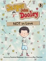 Book cover of JASPER JOHN DOOLEY 03 NOT IN LOVE
