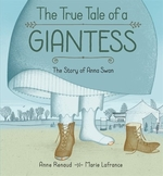 Book cover of TRUE TALE OF A GIANTESS
