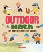 Book cover of OUTDOOR MATH FUN ACTIVITIES FOR EVERY SE