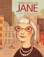 Book cover of WALKING IN THE CITY WITH JANE