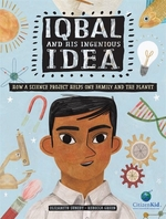 Book cover of IQBAL & HIS INGENIOUS IDEA