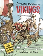Book cover of STOWING AWAY WITH THE VIKINGS