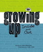 Book cover of GROWING UP INSIDE & OUT